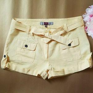 Pants - Linen shorts